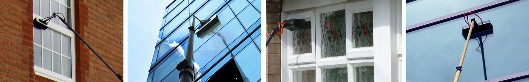 window cleaning with wfp